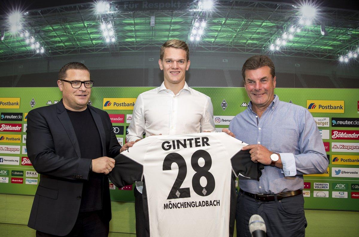 Matthias Ginter quyết định ở lại nước Đức để tiếp tục sự nghiệp