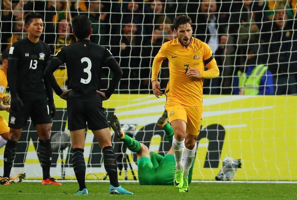 Australia vs Thái Lan - Bóng Đá