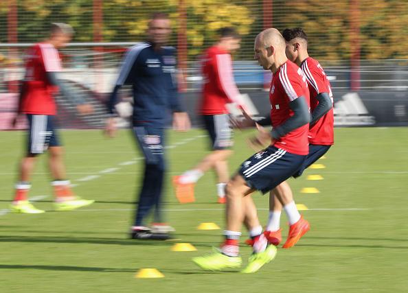 ảnh Bayern tập luyện - Bóng Đá