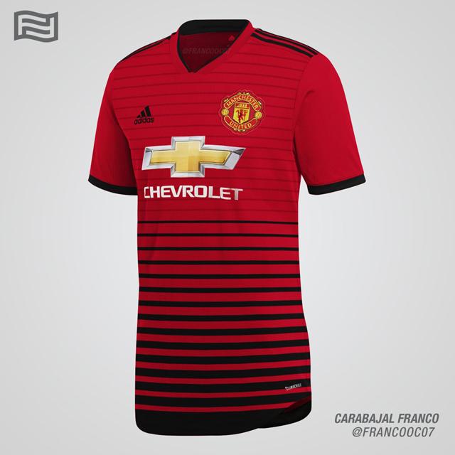 NÓNG: Lộ áo đấu chính thức Man United mùa giải 2018/19 - Bóng Đá