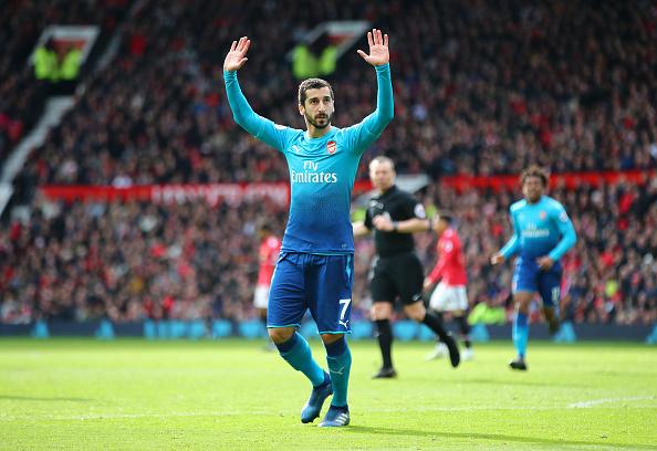 Mkhitaryan ghi bàn, Arsenal vẫn trắng tay trước Man United tại Old Trafford - Bóng Đá