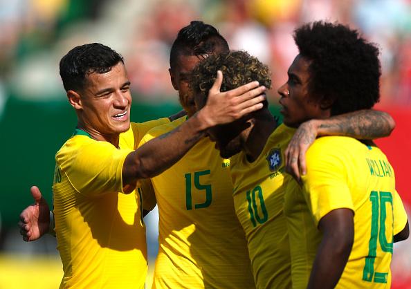 Với bộ tứ ma thuật, Brazil đã sẵn sàng - Bóng Đá