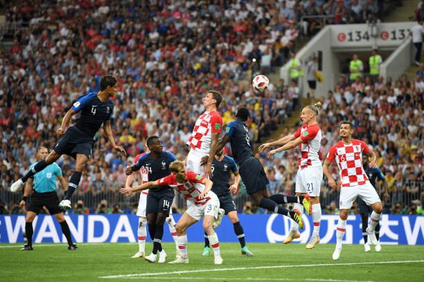 TRỰC TIẾP Pháp 1-0 Croatia: Mandzukic phản lưới nhà (H1) - Bóng Đá