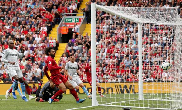 TRỰC TIẾP Liverpool 1-0 West Ham: Lại là Salah (H1) - Bóng Đá