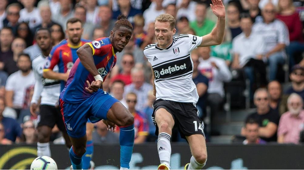 Andre Shurrle là điểm đen của Fulham trên hàng công trong trận đấu với Crystal Palace.