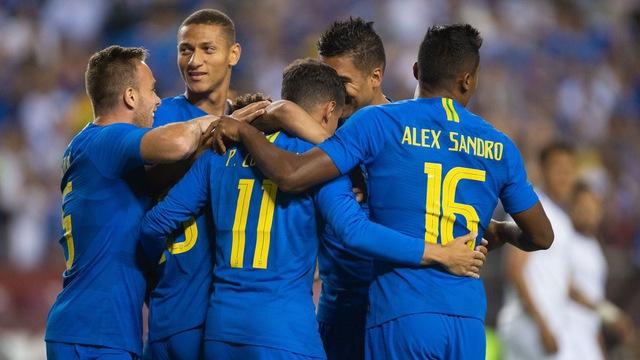 Gọi đến 9 tân binh, Brazil thu được gì sau 2 trận? - Bóng Đá