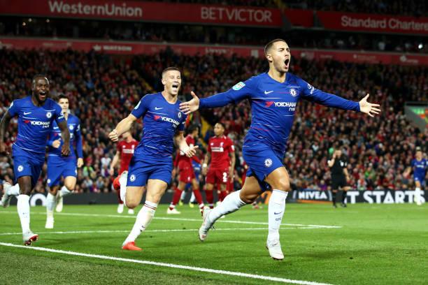 Biến Liverpool thành 'trò hề', Hazard giúp Chelsea lội ngược dòng ngoạn mục tại Anfield - Bóng Đá