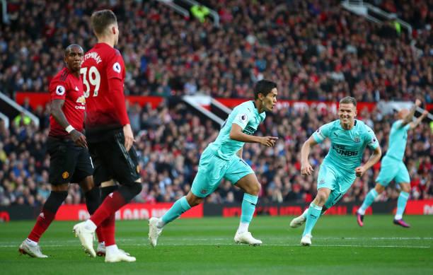TRá»°C TIẾP Man United 0-2 Newcastle: Thay ngÆ°á»i phút 19 (H1) - Bóng Äá