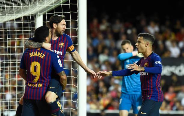 Không thắng trận thứ 4 liên tiếp, Barca chính thức đánh mất ngôi đầu La Liga - Bóng Đá