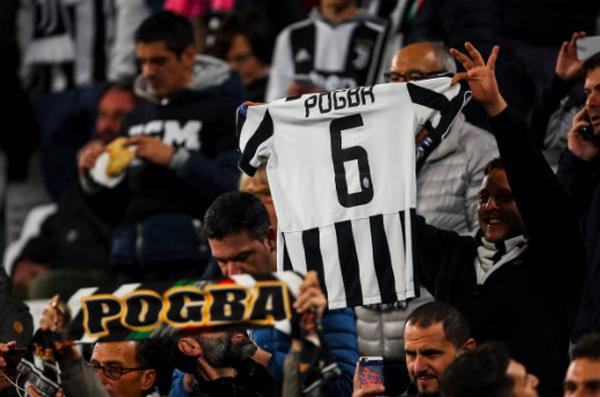 CĐV Juve làm điều không tưởng với Paul Pogba - Bóng Đá