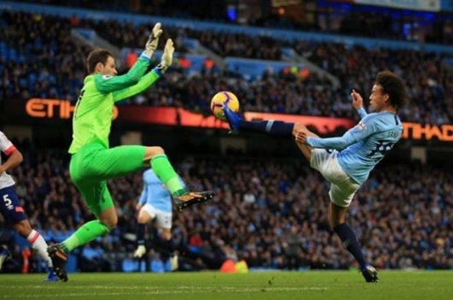Thống kê 'không tưởng' trong hiệp một trận Man City và Bournemouth - Bóng Đá