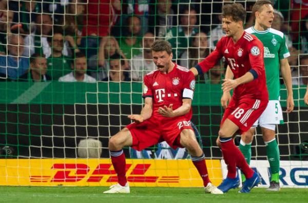 'Cầm vàng suýt để vàng rơi', Bayern nghẹt thở ghi tên vào chung kết - Bóng Đá