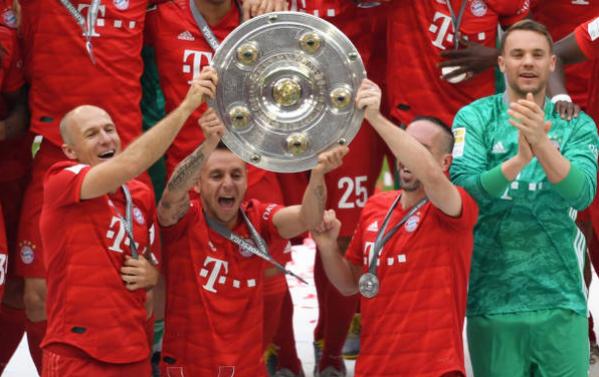 Ảnh Bayern vô địch - Bóng Đá