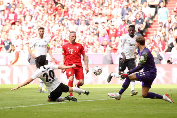 TRỰC TIẾP Bayern 5-1 Frankfurt: Đến lượt Robben (H2) - Bóng Đá