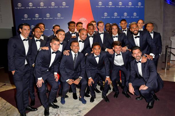 Gala ăn mừng PSG - Bóng Đá