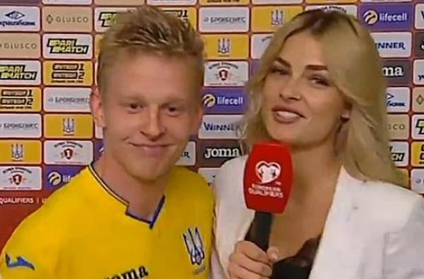 Cao hứng sau chiến thắng, sao Man City 'cưỡng hôn' nữ phóng viên xinh đẹp - Bóng Đá