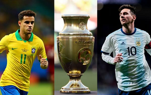 TRỰC TIẾP Brazil vs Argentina: - Bóng Đá
