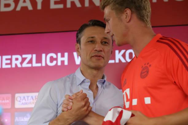 Jan Fiete Arp ra mắt Bayern - Bóng Đá