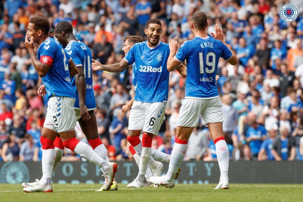 Rangers 4-0 Marseille - Bóng Đá