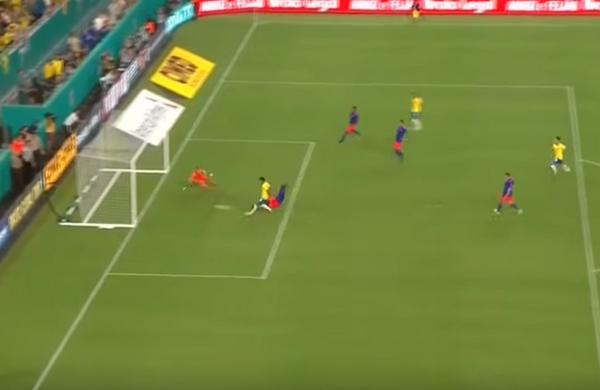 Tái xuất hoành tráng, Neymar vẫn không thể giúp Brazil có chiến thắng - Bóng Đá