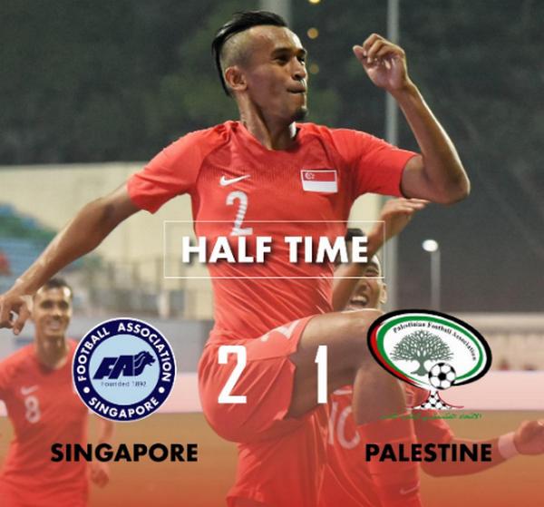 Singapore vs Palestine - Bóng Đá