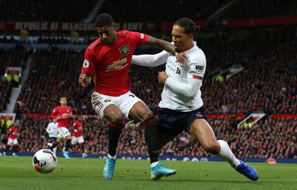TRỰC TIẾP Man United 0-0 Liverpool: Rashford 'hạ gục' Van Dijk (H1) - Bóng Đá