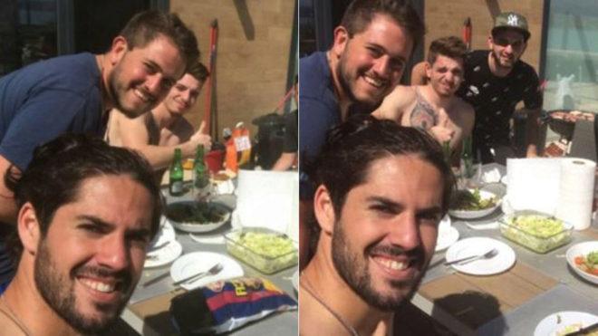 Isco: Tôi không đến Barca, tôi muốn ăn tươi nuốt sống họ - Bóng Đá
