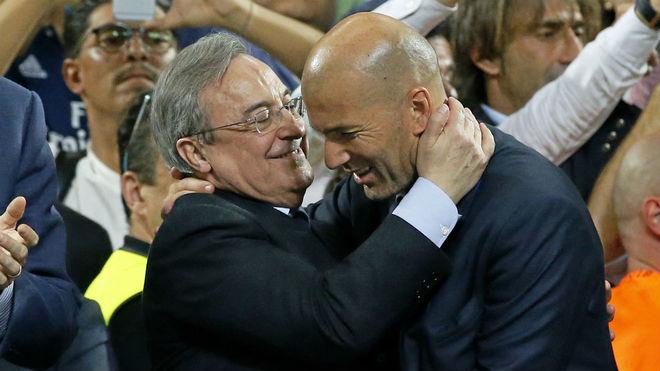 Câu chuyện của Zidane, và câu chuyện của Florentino Perez - Bóng Đá