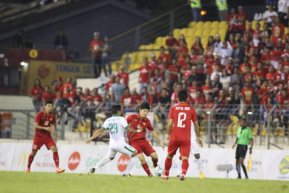 TRỰC TIẾP U22 Việt Nam 0-0 U22 Indonesia: Quyết tâm ngay từ đầu - Bóng Đá