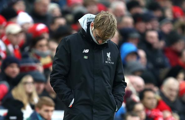 Nếu thua Man Utd cuối tuần này, Klopp sẽ theo chân Rogers - Bóng Đá