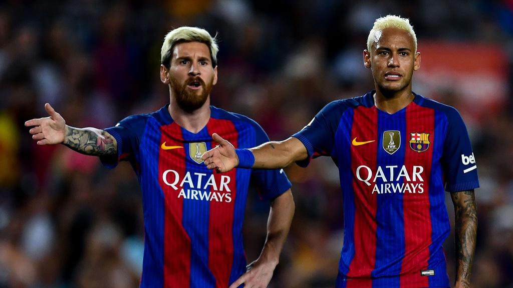 Tới Barca, sự nghiệp của Neymar được nâng tầm.