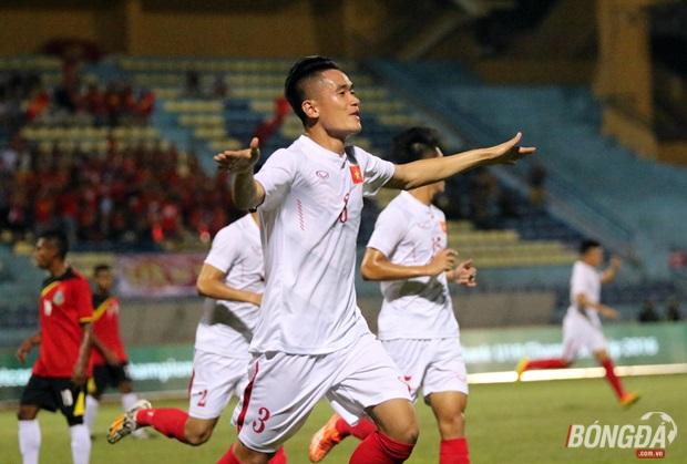 U19 Việt Nam lên đầu bảng sau khi đè bẹp U19 Timor Leste