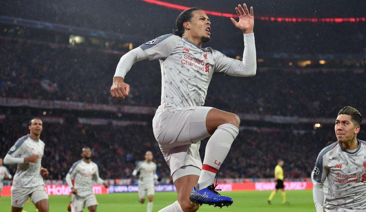 CĐV Liverpool phát cuồng vì pha đánh đầu quyết định của Van Dijk - Bóng Đá