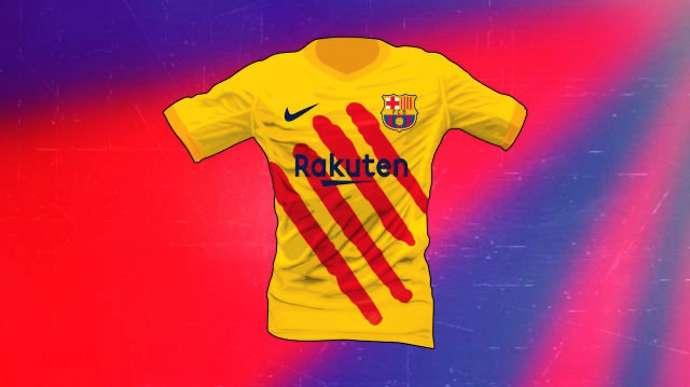 Barcelona thiết kế áo đấu riêng cho El Clasico - Bóng Đá