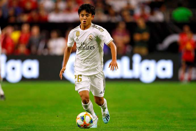 Takefusa Kubo rated as Real Madrid's best player during the 7-3 defeat v Atletico Madrid - Bóng Đá