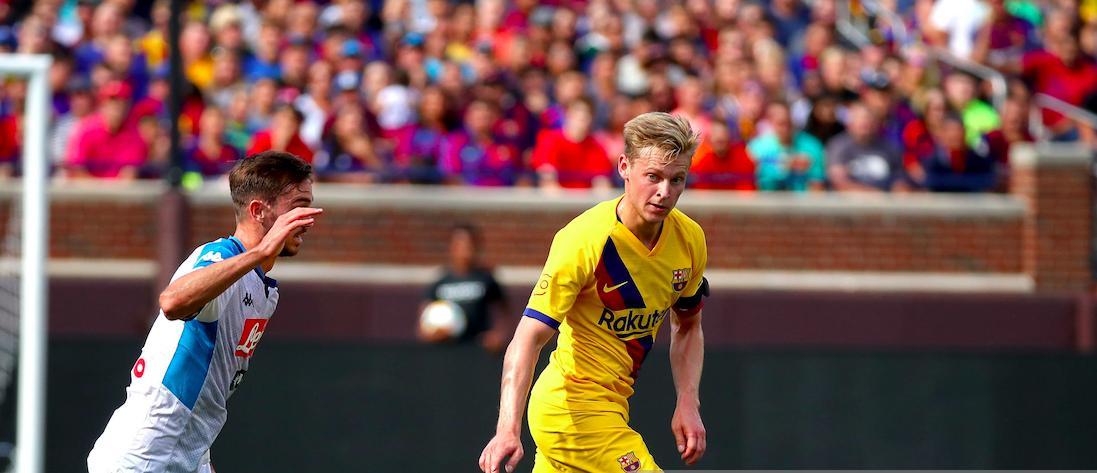 CĐV Barca: 'Frenkie de Jong đã thực hiện một đường chuyền 'Cruyff' cho Dembele' - Bóng Đá