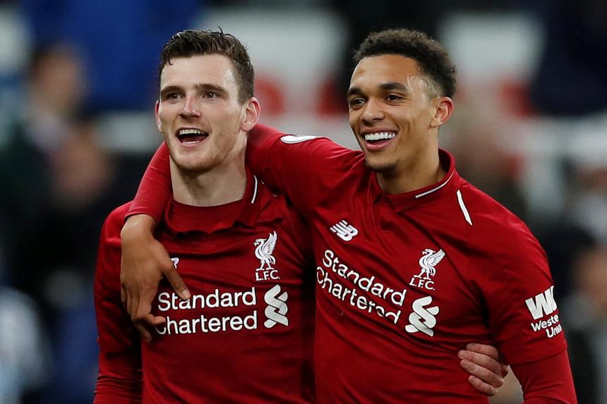 CĐV Liverpool: 'Đây là cặp hậu vệ xuất sắc nhất kể từ thời Cafu - Maldini' - Bóng Đá
