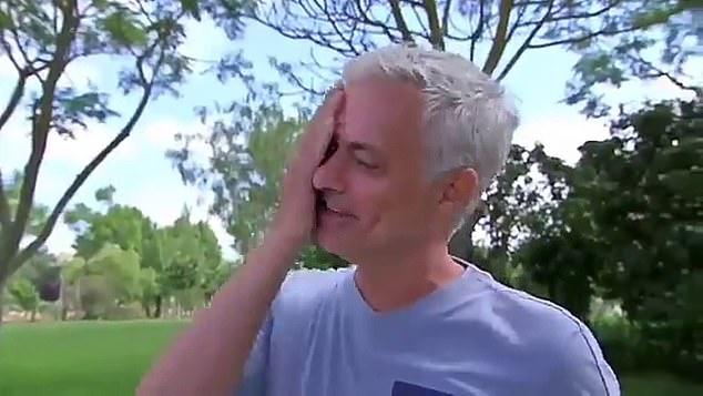 Emotional footage emerges of a remarkably candid Jose Mourinho close to TEARS - Bóng Đá