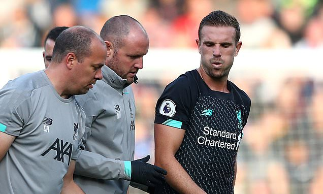 Jordan Henderson set to miss England internationals after sustaining ankle injury in Liverpool's win at Burnley - Bóng Đá