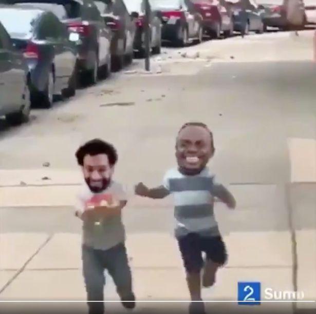 Salah laughs off Mane spat with brilliant video - Bóng Đá