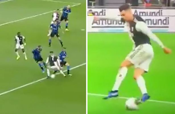 Cristiano Ronaldo slammed by fans for 'Sunday league skills' in Juventus win - Bóng Đá