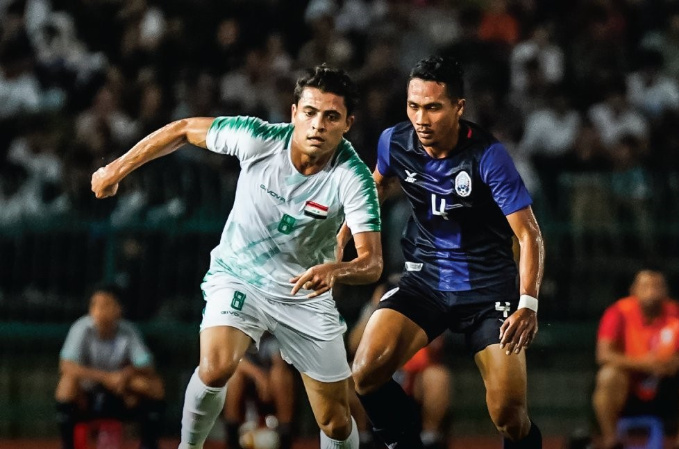 Iraq claim easy win but Cambodia show improvement after humbling defeat - Bóng Đá