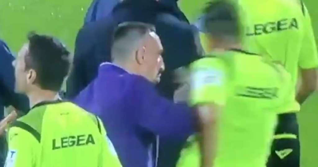 Fiorentina, Commissioner: 'What happened yesterday is scandalous. Ribery? He was right - Bóng Đá