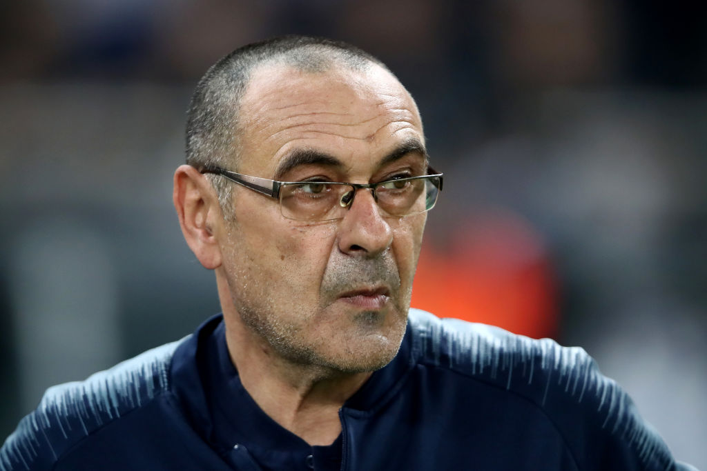 'It's premature' - Sarri says Serie A not a two-horse race between Juve and Inter - Bóng Đá
