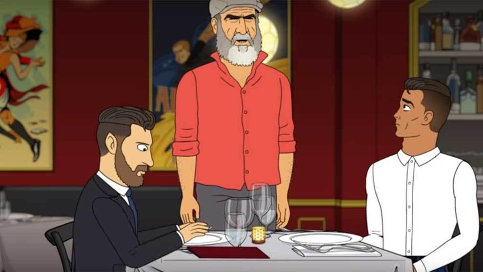 Sẽ thế nào nếu Ronaldo và Messi ngồi ăn tối cùng nhau? - Bóng Đá