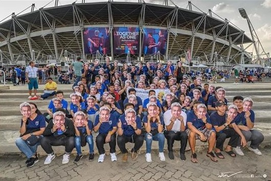 Chàng trai Nhật Bản trở thành fan cuồng của tuyển Thái Lan - Bóng Đá