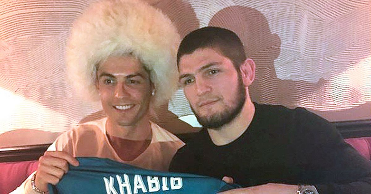 Khabib gives advice to his friend CR7: