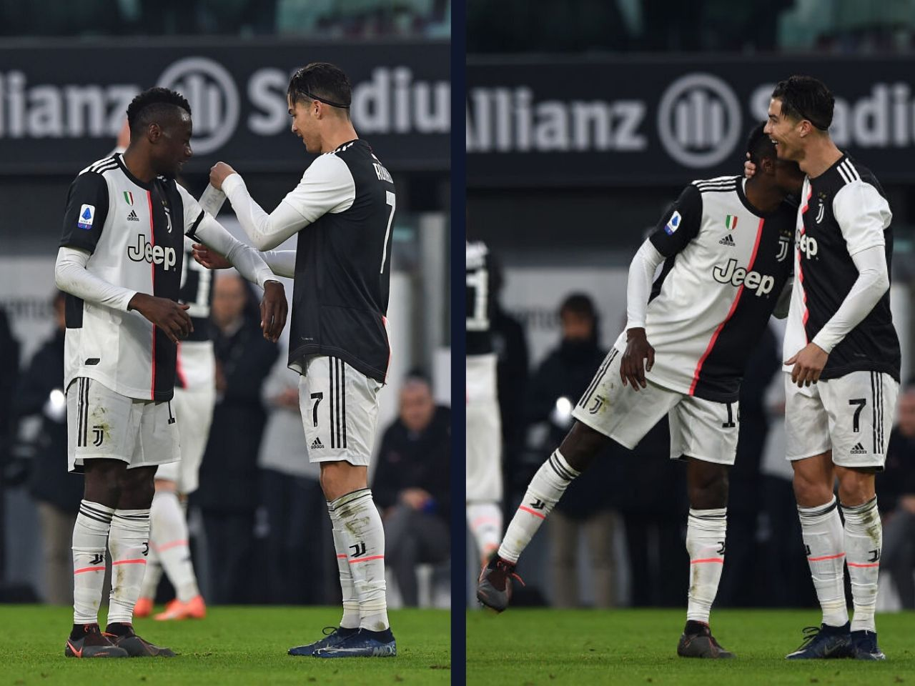 TOP MAN Humble Cristiano Ronaldo is handed Juventus captain's armband… but gives it to Matuidi as he's been there longer - Bóng Đá