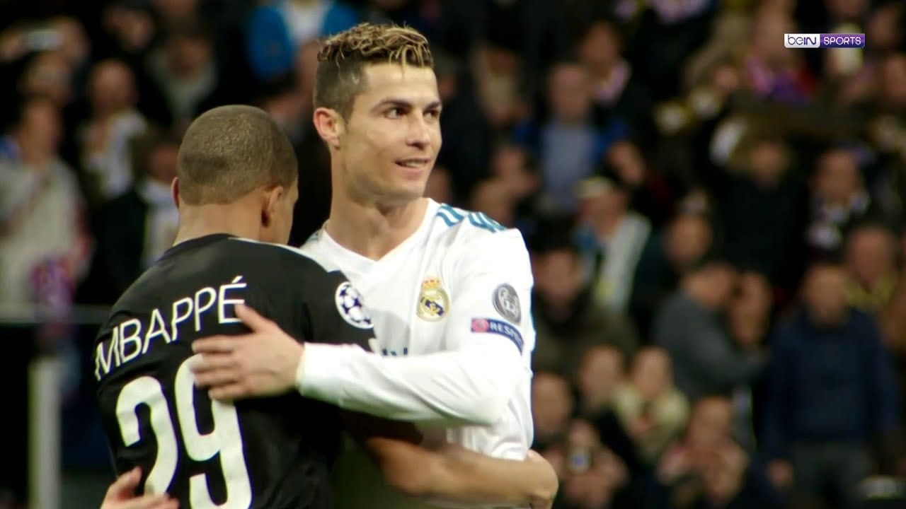 PSG's Kylian Mbappe Talks of Childhood Idols Zinedine Zidane, Cristiano Ronaldo - Bóng Đá
