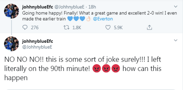 Everton fan's hilarious reaction to Newcastle's comeback captures the shock result perfectly - Bóng Đá